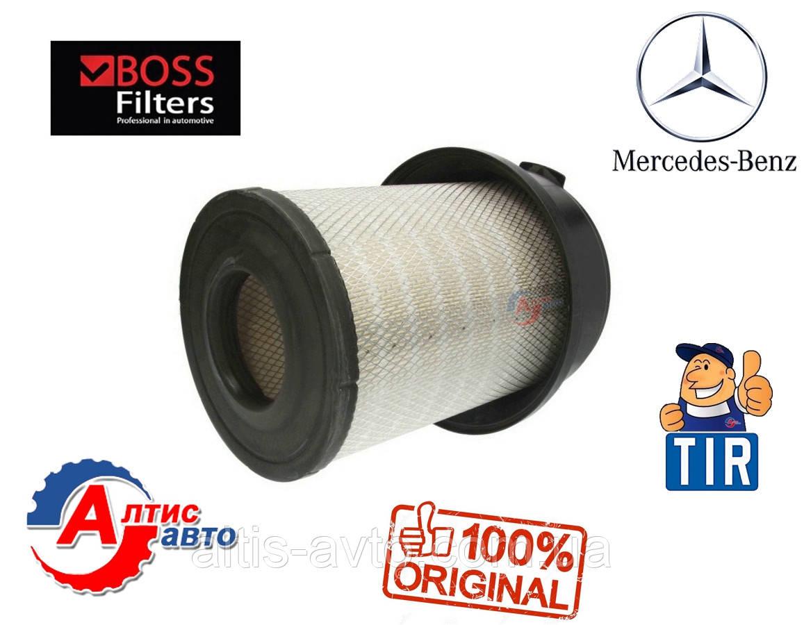 Воздушный фильтр на Мерседес Актрос, Аксор MP2 / MP3  в зборе с крышкой 0040940204