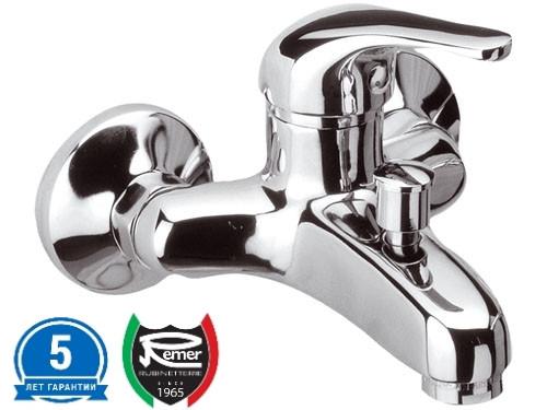Смеситель для ванны межосевое 100 мм с переключателем REMER C05 2
