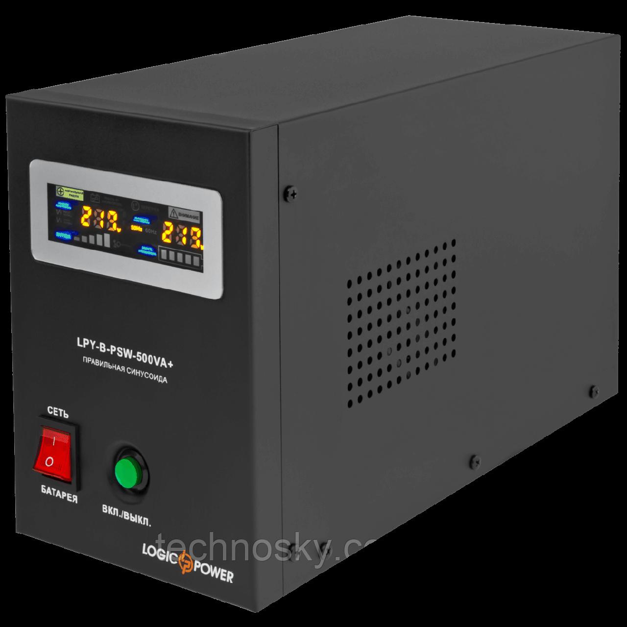 Источник бесперебойного питания LogicPower LPY-B-PSW-500VA +