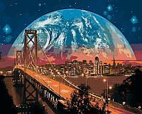 Рисование по цифрам VP481 Сан-Франциско (40 х 50 см) Турбо