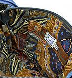 Джинсовая сумка РЫЖИК С РАЗНЫМИ ГЛАЗАМИ, фото 6