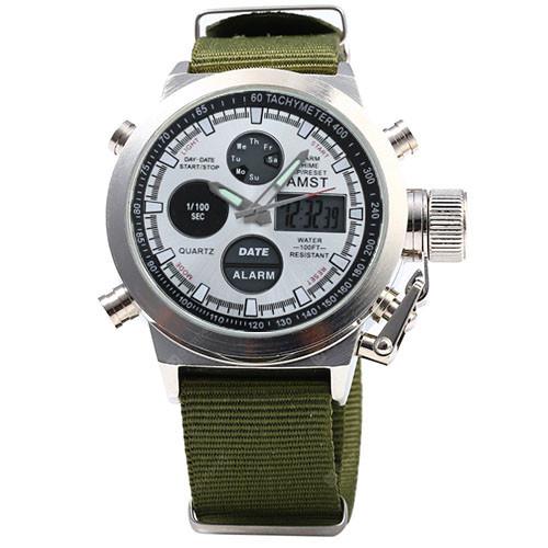 Часы наручные AMST Military-White AM3003-3