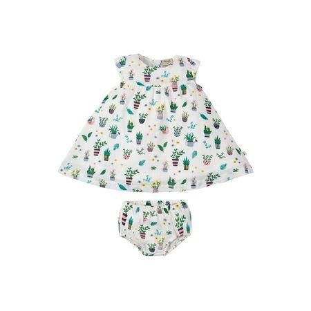 Платье + трусики детские Frugi Greenhouse