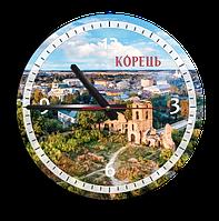 Годинник Ф25см  м. Корець