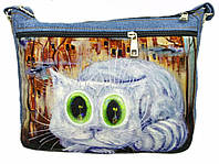 Джинсовая сумка МЕЧТАТЕЛЬ, фото 1