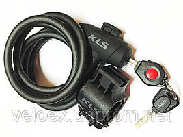 Велозамок KLS COIL 10х1800 мм