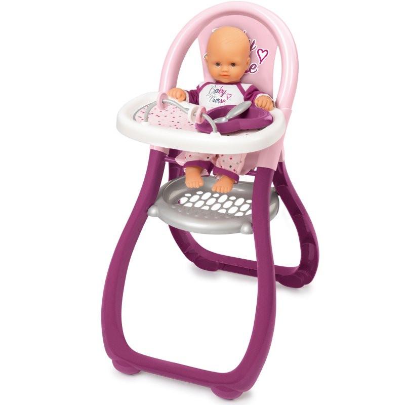 Игрушечный стульчик для кормления куклы BABY NURSE SMOBY 220342