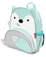 """Рюкзак для малыша SkipHop (США) """"Зимняя лисичка"""", рюкзачок для мальчика от 3-х лет СкипХоп"""