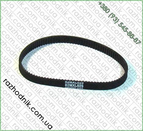 Ремень зубчатый  82 MXL025 для заточки цепей, фото 2