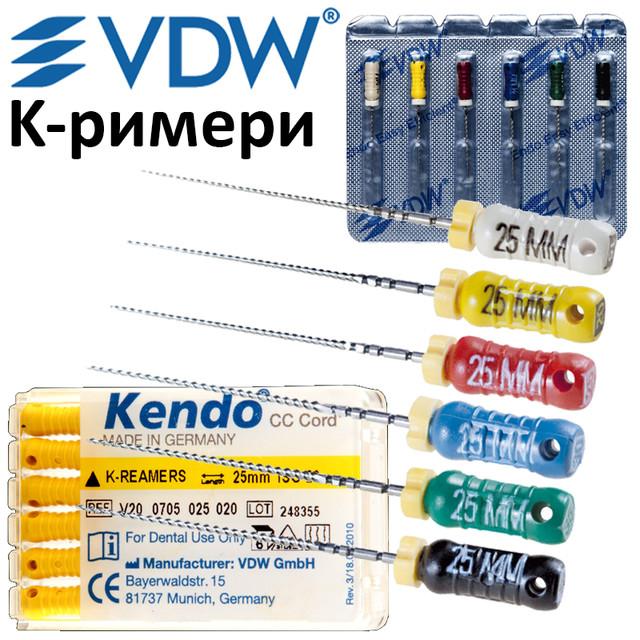 Ручний інструмент для проходження кореневих каналів (K-reamer)