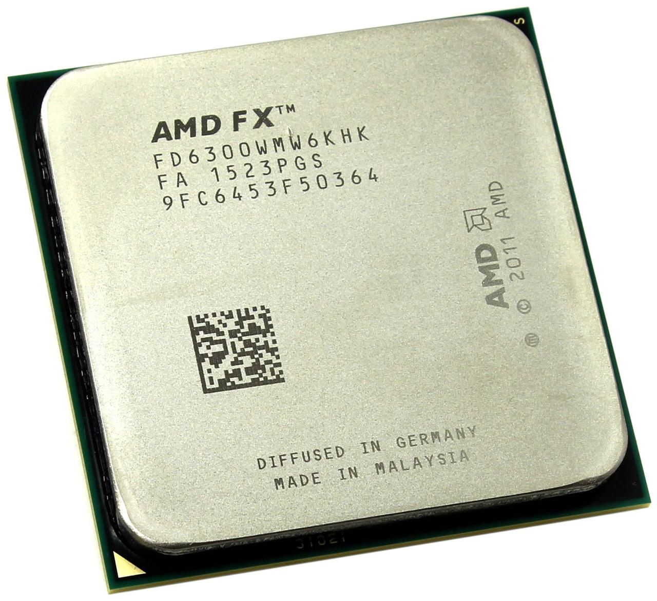 МОЩНЫЙ ИГРОВОЙ Процессор на 6 ЯДЕР ! sAM3+ AMD FX-6300 - 6 ЯДЕР по 3.5-4,1Ghz каждое ( FD6300WMW6KHK ) сГАРАНТ