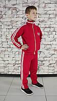 Костюм детский спортивный красный с белыми полосками Point ONE
