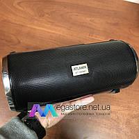 Портативная акустика FM bluetooth колонка Atlanfa AT-1888BT беспроводная акустическая система черная