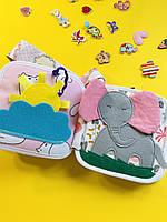 Подвеска на коляску мягкая книжка для малышей, шуршалка