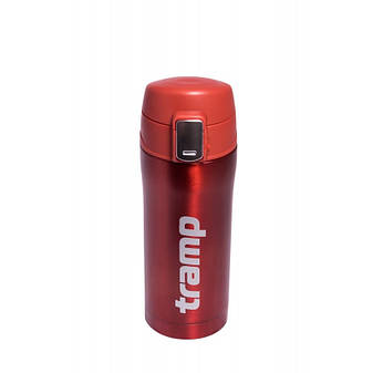 Термос Tramp 0,35 л (красный металлик), фото 2