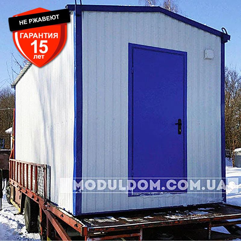 Хозяйственный модуль (6 х 2.4 м.), склад