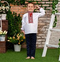Детская рубашка-вышиванкадля мальчика