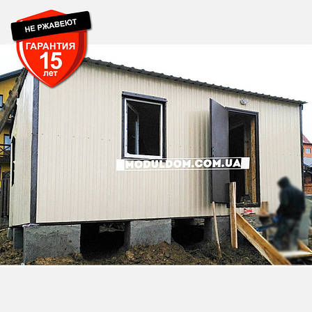 Мобильный дачный домик (6 х 5 м.), два модуля, фото 2