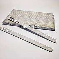 Пилочки для ногтей овальные OPI 240/240 грит, (50 шт)