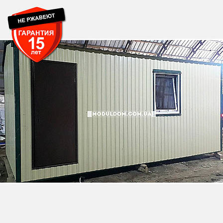 Мобильный дачный домик (6 х 3 м.), фото 2