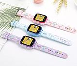 Умные детские часы с видеозвонком Tiroki Q500(DF33) 4G синие, фото 3