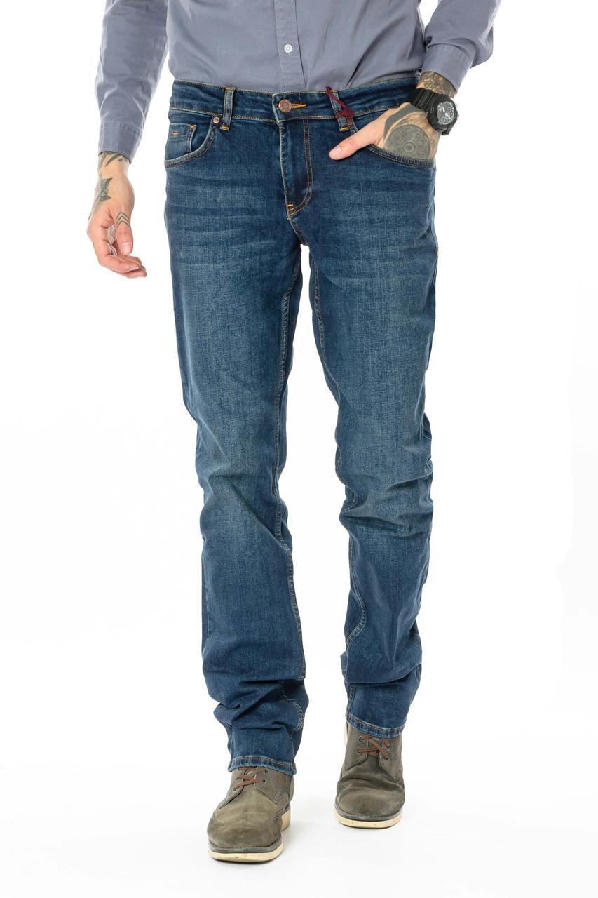 Джинсы Franco Benussi 20-152 темно-синие 36 рост