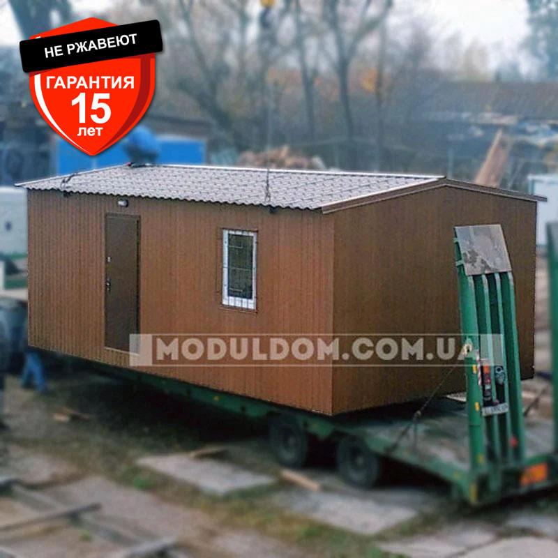Мобильный дачный домик (8 х 4 м.), с просторной кухней и спальней