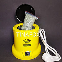 Стерилізатор кварцовий (кульковий) для інструментів, жовтий