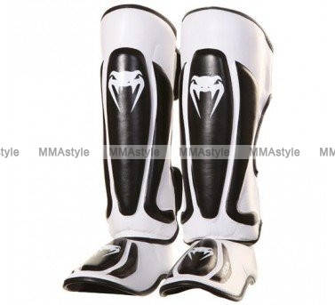 Защита голени Venum Predator Standup Shinguards - Black/Ice, фото 2