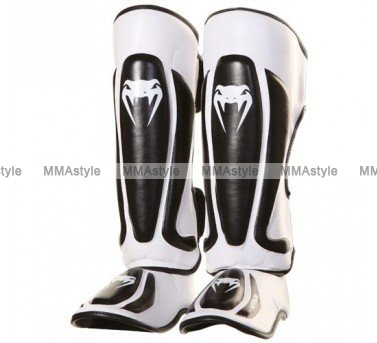 Защита голени Venum Predator Standup Shinguards - Black/Ice