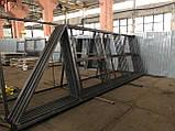 Откатные ворота Platogor 3000x2000 въездные самосварные, фото 5