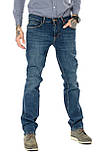 Джинсы Franco Benussi 20-152 темно-синие 36 рост, фото 3
