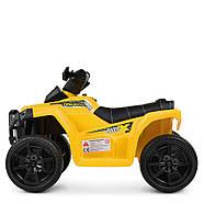 Дитячий квадроцикл Bambi M 4207EL-6 жовтий Гарантія якості Швидка доставка, фото 5