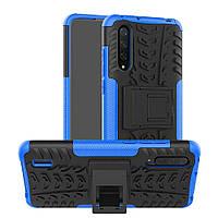 Чехол Armor для Xiaomi Mi 9 Lite бампер противоударный оригинальный синий