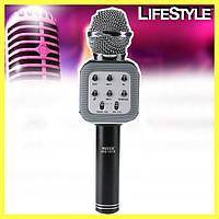 Беспроводной караоке микрофон WS1818 с чехлом + Подарок!
