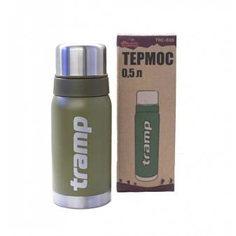 Термос Tramp 0.5л. (оливковый), фото 2