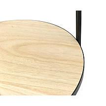 Журнальный столик с часами - Steel Gears 50 cm, фото 3