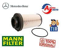 Топливный фильтр на Мерседес Актрос, Аксор O530 O345 O550, OM942 вставка в колбу PU999/1X