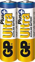 Батарейка GP Ultra Plus Alkaline LR6 АА 1.5V 2шт. (15AUPHM-2S2)