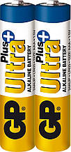Батарейка GP Ultra Plus Alkaline LR03 ААА 1.5V 2шт. (24AUPHM-2S2)