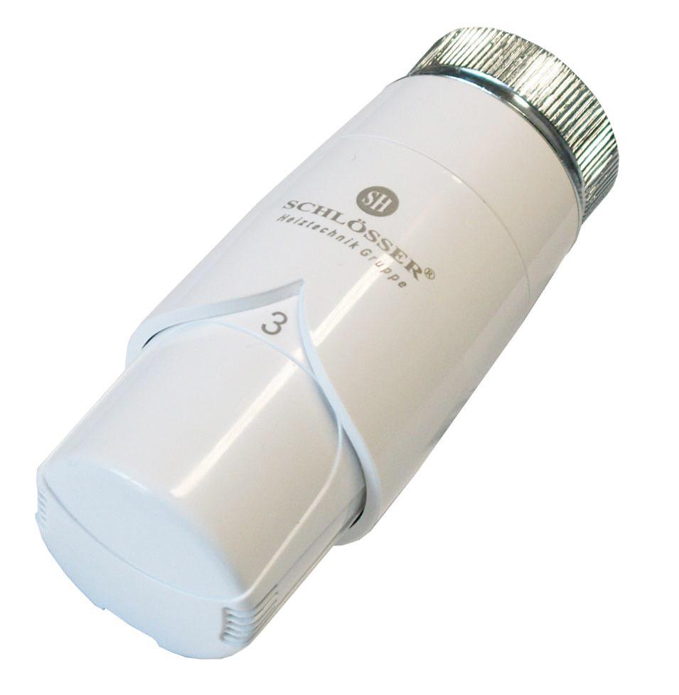 Термостатическая головка Schlosser DR Diamant Plus Белая