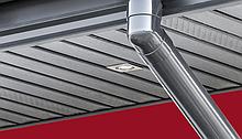 ПВХ софіти для підшивки звисів даху