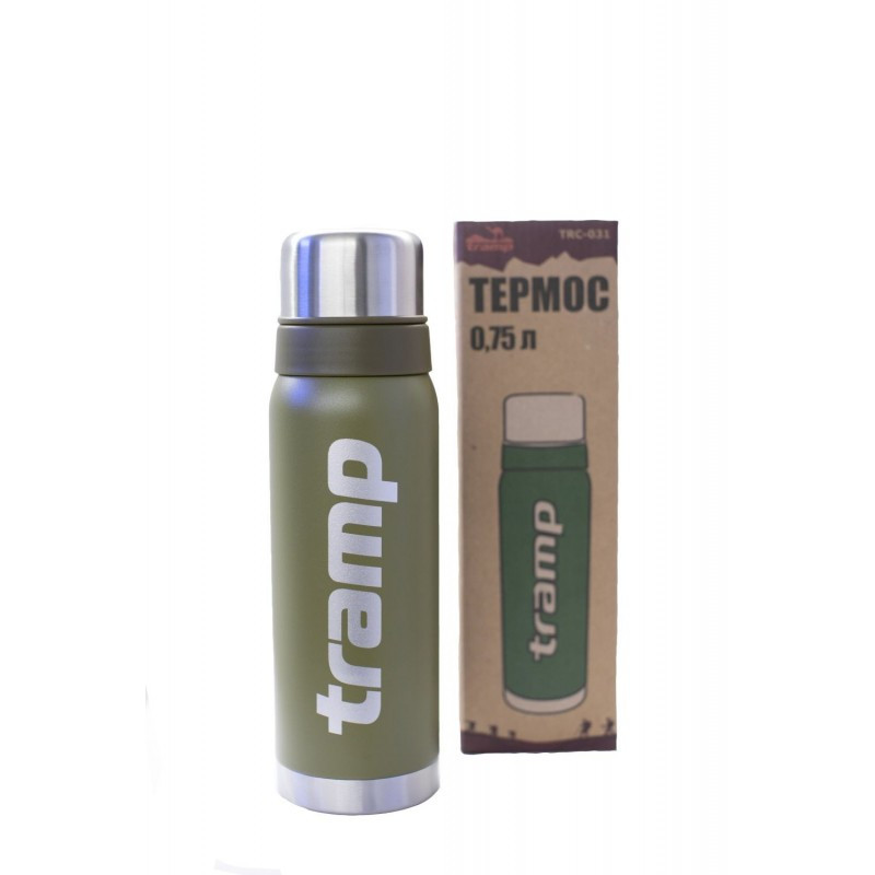 Термос Tramp 0.75л. (оливковый)