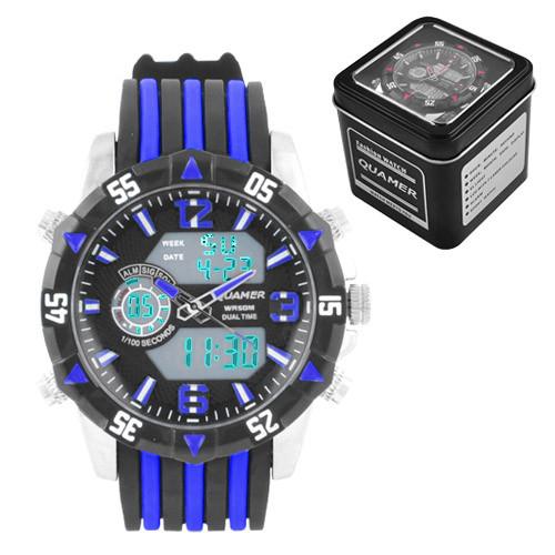 Часы наручные Quamer 1508 водонепроницаемые в подарочной упаковке