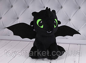 Мягкая игрушка Беззубик, Ночная Фурия, Как приручить дракона