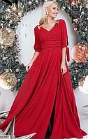 Женское весеннее длинное платье