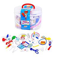 Детский игровой набор Доктор М 0461 в чемодане