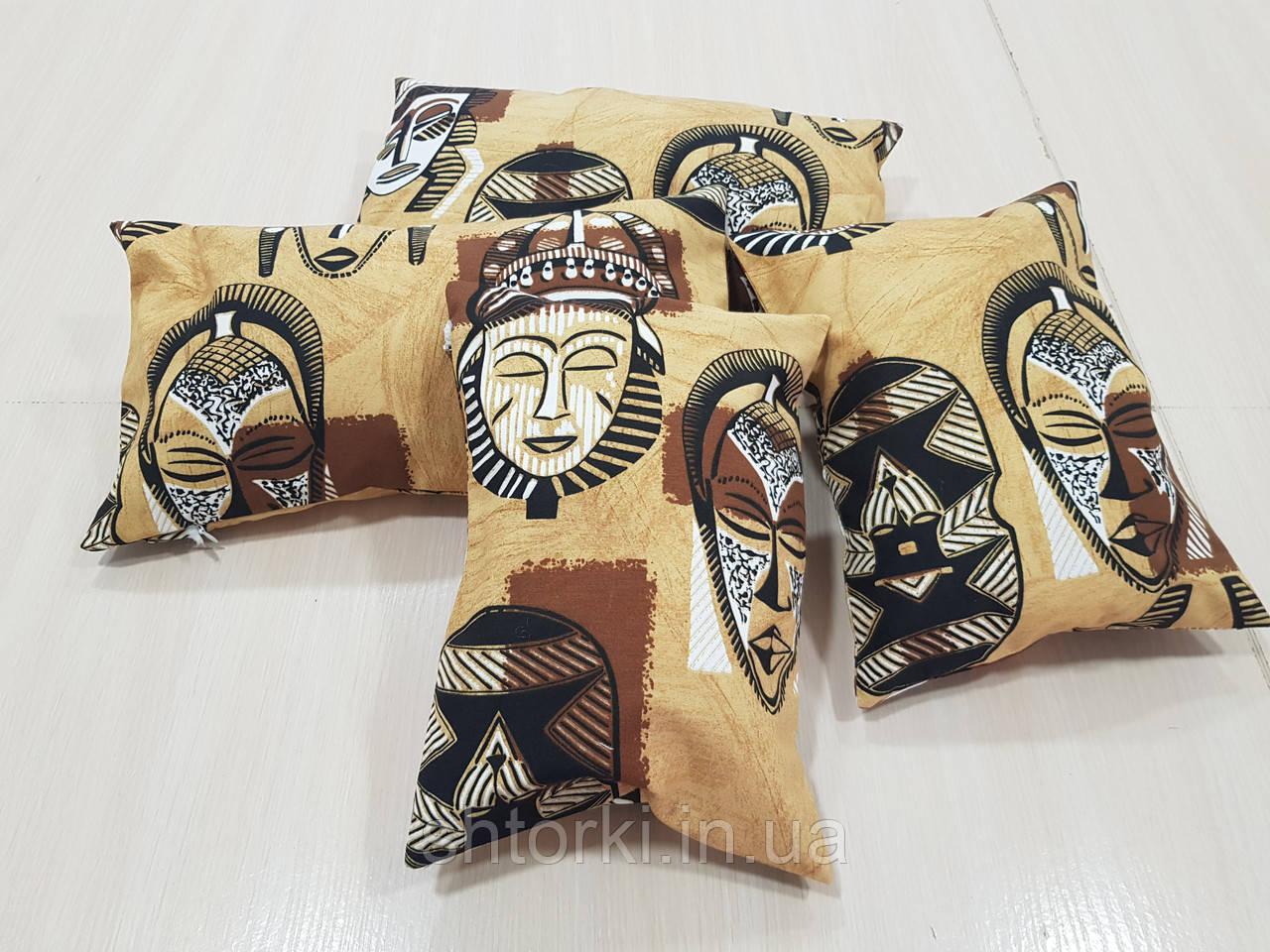 Комплект подушек   Африканский стиль 5шт
