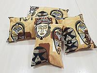 Комплект подушек   Африканский стиль 5шт, фото 1