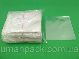 Пакет прозорий поліпропіленовий 15*15\25мк (1000 шт)заходь на сайт Уманьпак